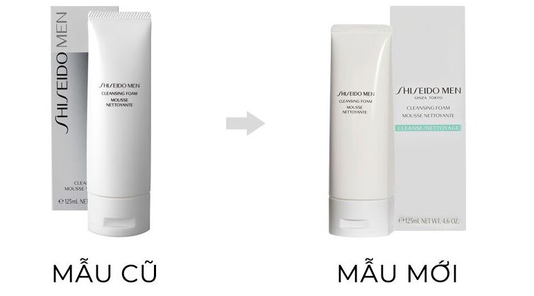 Giá sữa rửa mặt cho nam Shiseido Men Cleansing Foam bao nhiêu tiền?