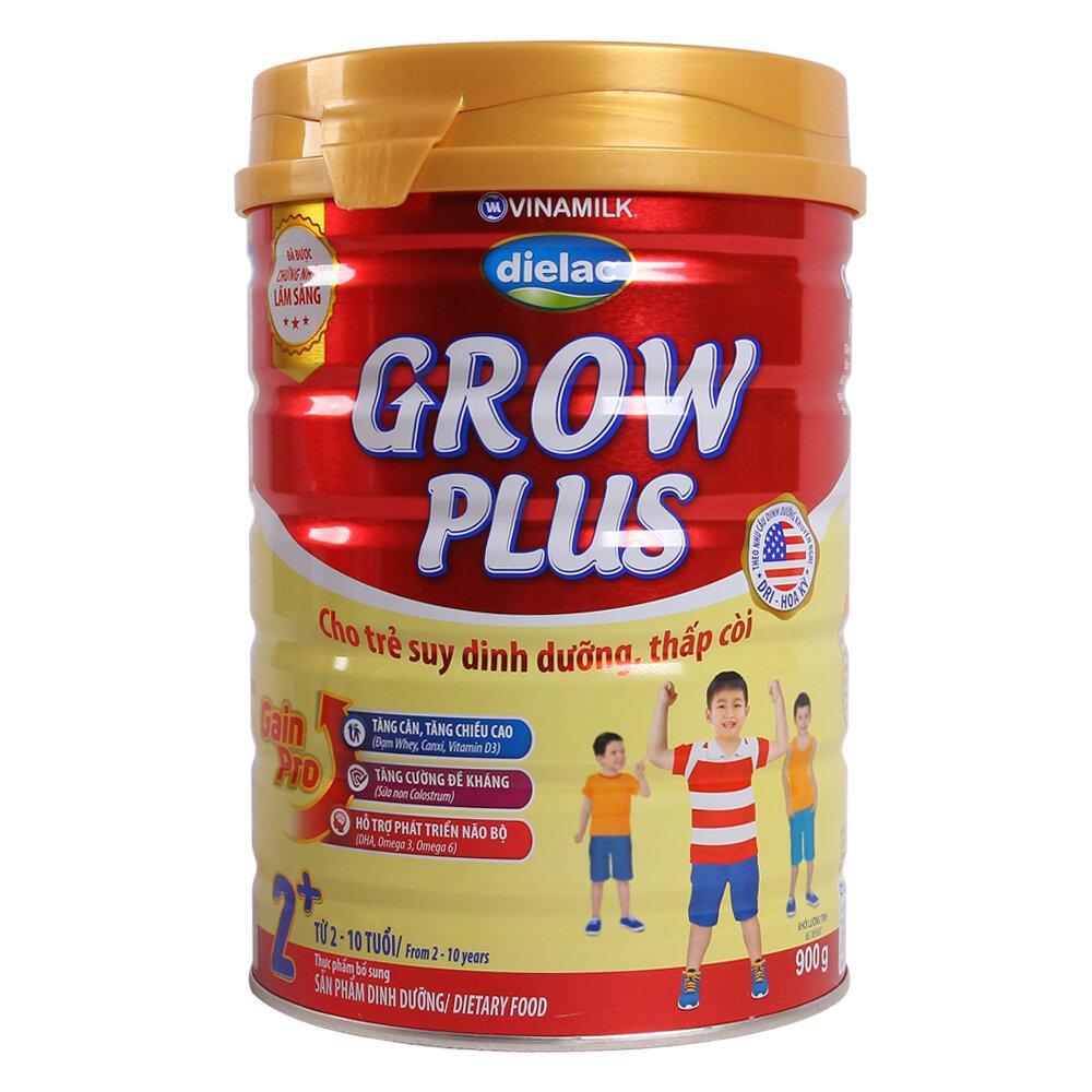 Dielac Grow Plus 2+ cho bé thấp còi, suy dinh dưỡng phát triển