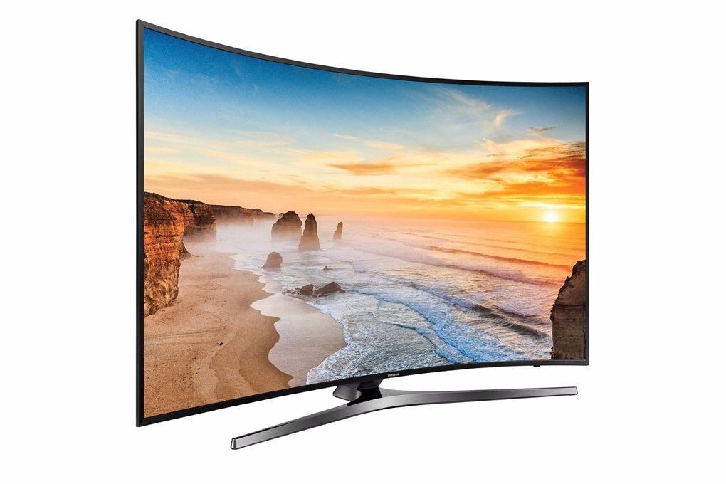Smart Tivi cong Samsung 55 inch UA55MU6500 đường cong tinh tế, đẹp mắt