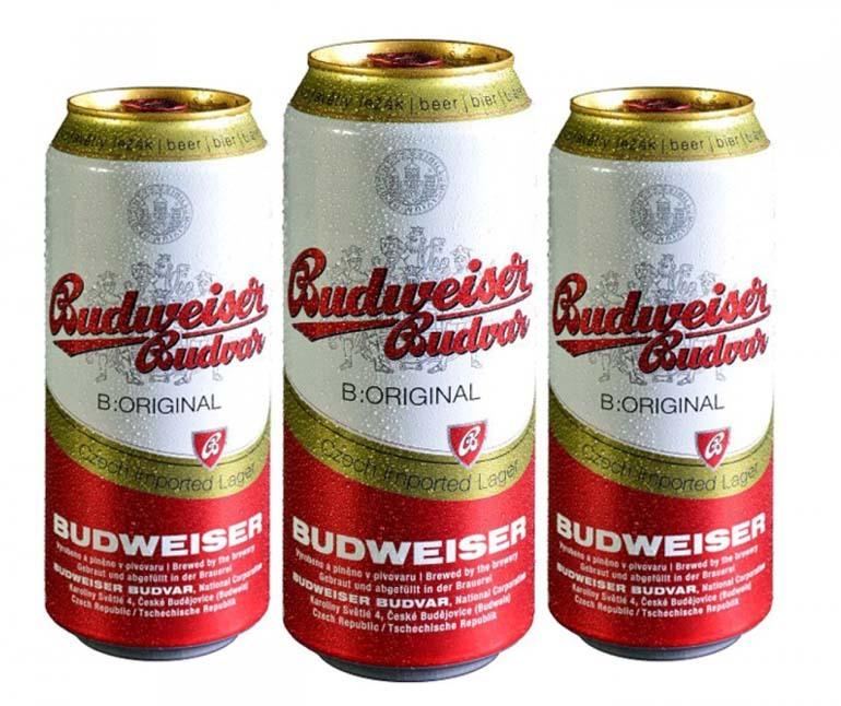 Lon bia Budweiser