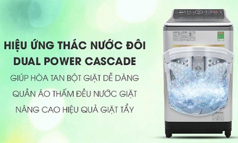 So sánh máy giặt LG Inverter lồng đứng 13kg Th2113ssak và Panasonic Inverter 13.5 kg Na-fs13v7srv, loại nào tốt hơn?