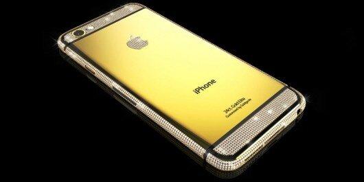 Chiếc iPhone 6 được dát vàng của Goldgenie