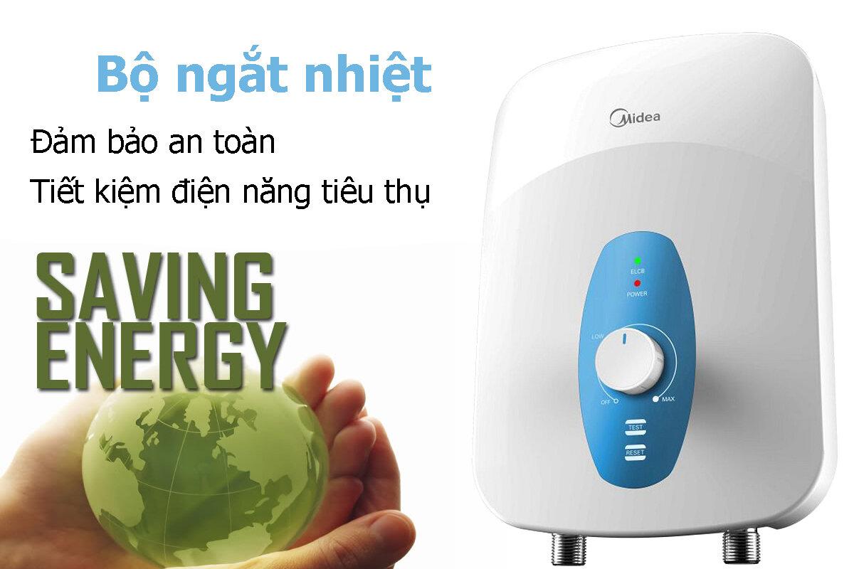 Máy nước nóng cho gia đình ít người