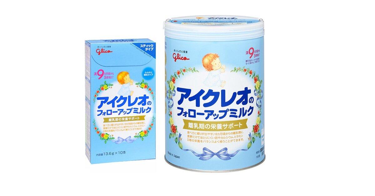 5 lý do mẹ nên chọn sữa Glico số 9 cho bé từ 9 đến 36 tháng tuổi