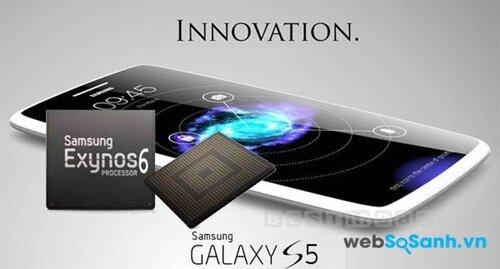 Galaxy S5 vận hành mượt mà nhờ chip lõi 8 Exynos