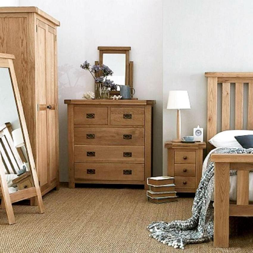 Tủ đầu giường Rustic