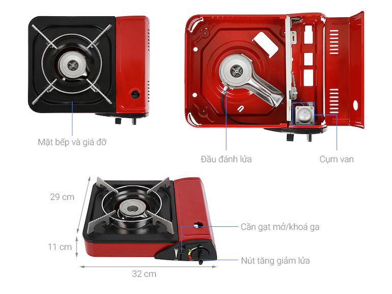 Bếp ga mini Duxton DG-150