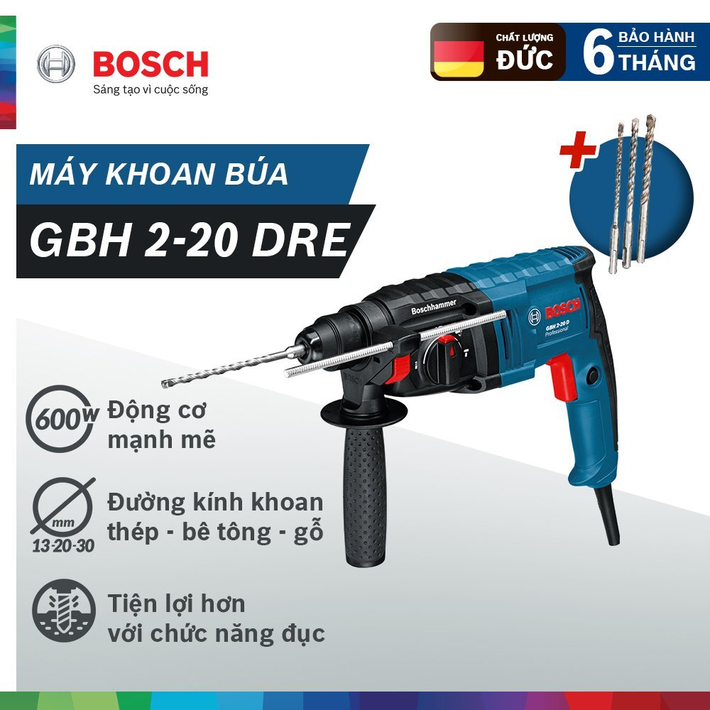 Bộ máy khoan búa Bosch