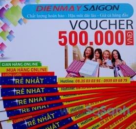 Voucher giảm giá của Điện Máy Sài Gòn