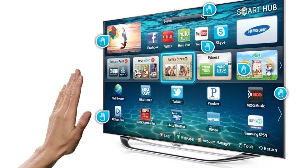 Tận hưởng kho ứng dụng của tivi Samsung.