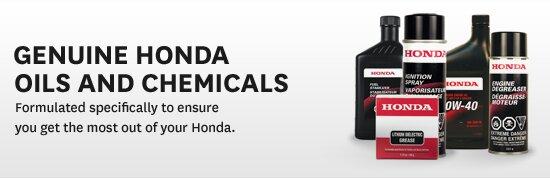 Honda tự sản xuất các sản phẩm dầu nhớt riêng