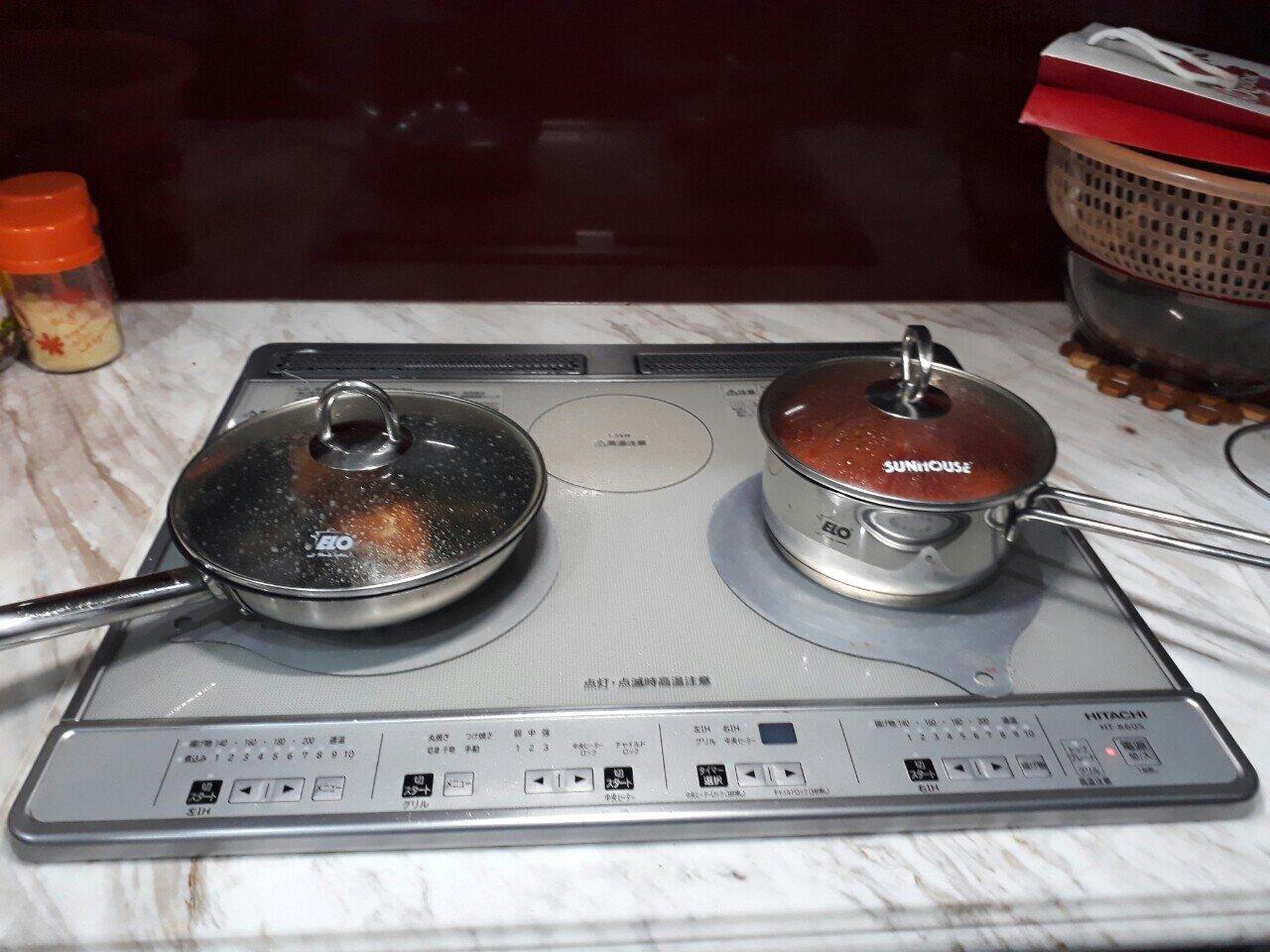 Bếp từ panasonic nội địa nhật