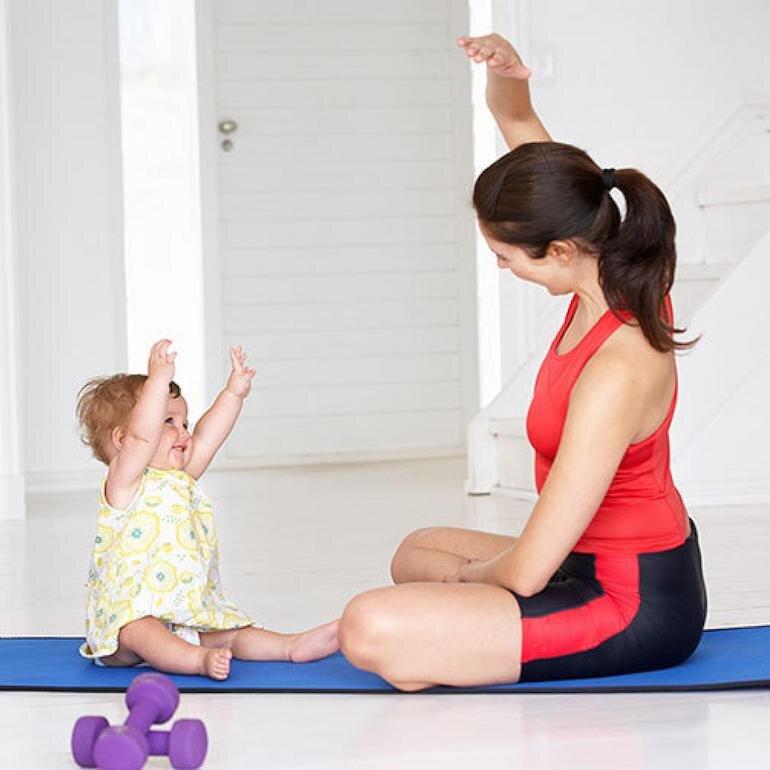 Giảm cân sau khi sinh để giảm stress và tránh bệnh béo phì