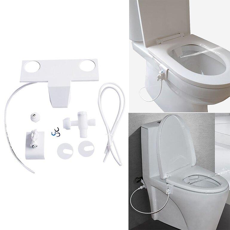 Vòi xịt rửa Takaio Bidet được thiết kế thông minh, dễ dàng sử dụng với nút vặn nước có nhiều chế độ phun khác nhau