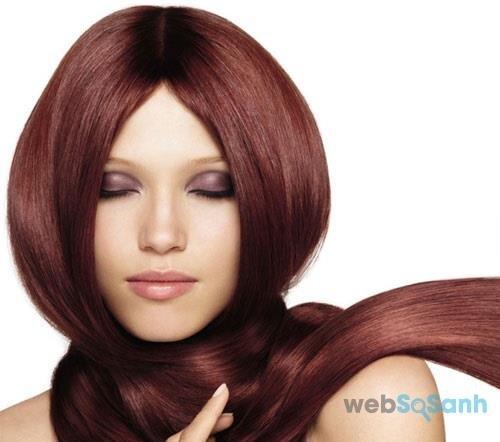 Nhuộm tóc tự nhiên màu nâu đỏ bằng củ dền và cà rốt