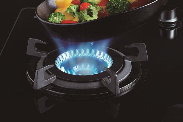 công nghệ đầu đốt inner burner bếp gas âm rinnai