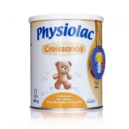 Sữa bột Physiolac số 3 - hộp 400g (dành cho trẻ từ 1 - 3 tuổi)