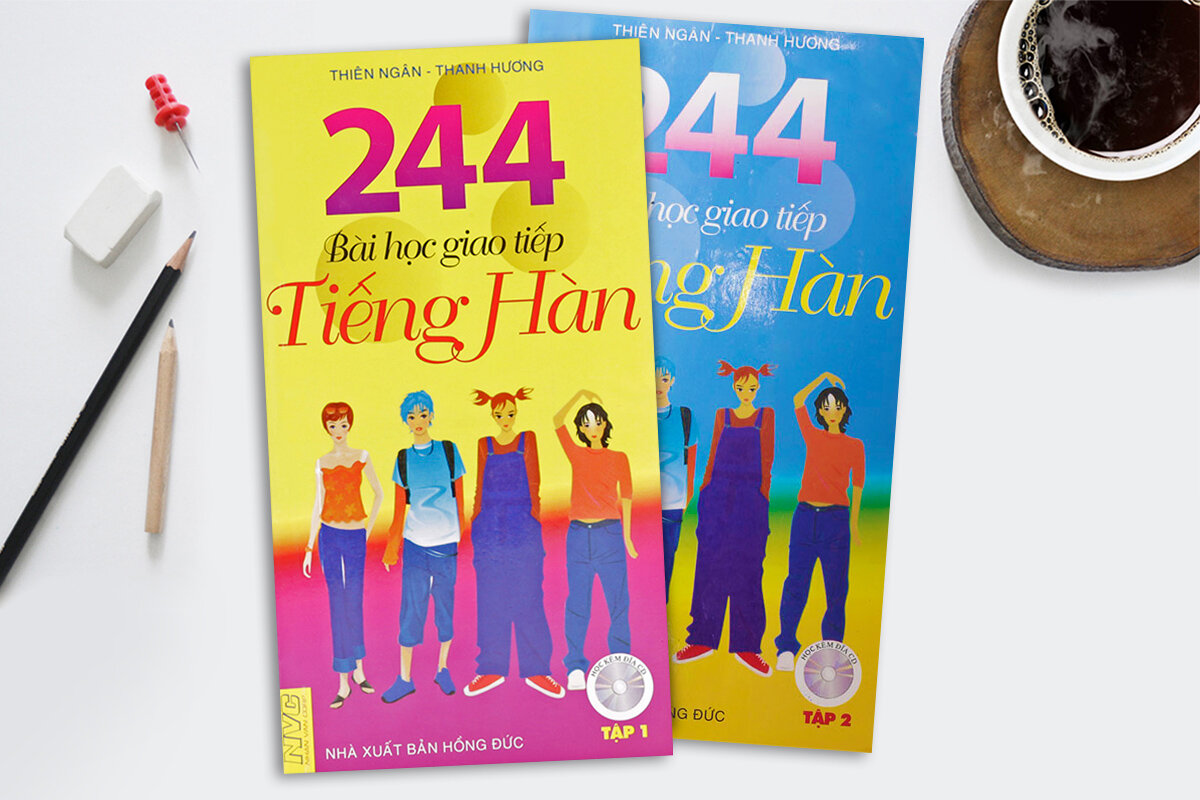 224 Bài Học Giao Tiếp Tiếng Hàn tập hợp các mẫu câu giao tiếp tiếng Hàn căn bản và bài tập tình huống giúp bạn tiếp thu nhanh, dễ dàng.
