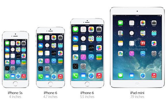 Apple tham vọng biến dòng sản phẩm phablet, với đại diện là iPhone 6 5,5 inch, trở thành một sản phẩm chính thống trên thị trường như smartphone và tablet.