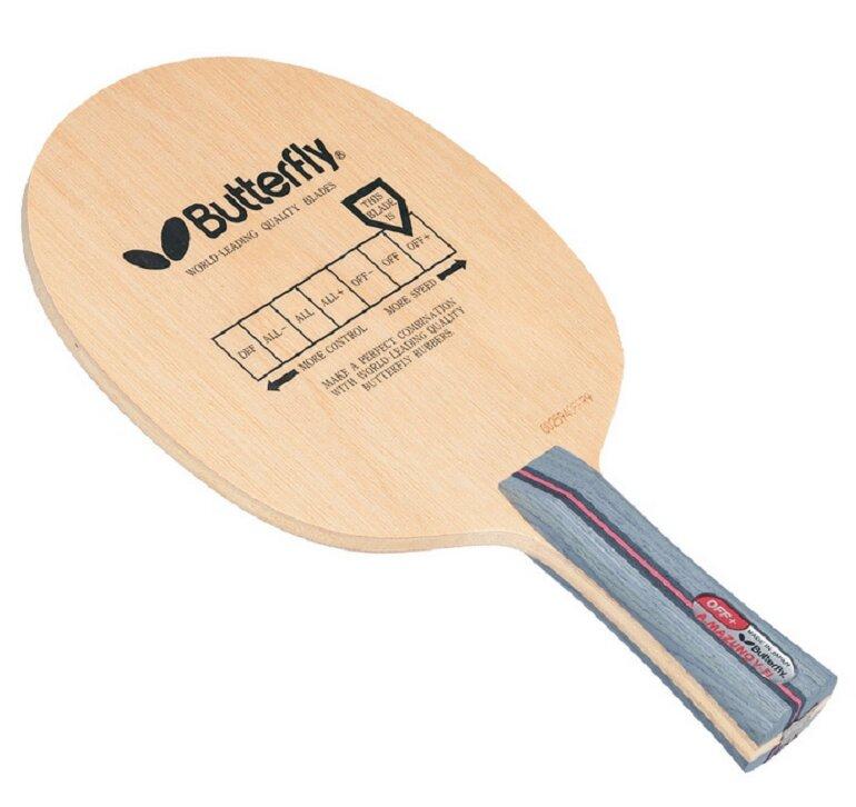 Butterfly là thương hiệu vợt bóng bàn nổi tiếng và uy tín bậc nhất đến từ Hoa Kỳ