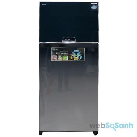 Tủ lạnh Toshiba GR-WG66VDA - Tủ lạnh Toshiba dung tích lớn tốt nhất