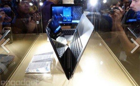 Thiết kế với kiểu dáng một chiếc laptop