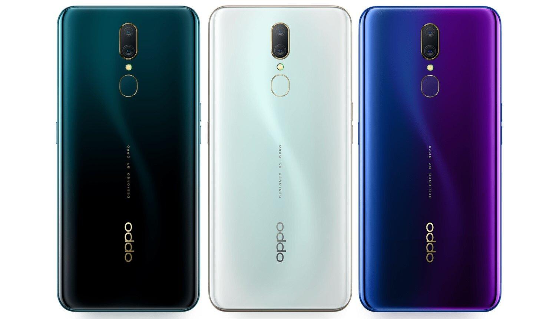 Đánh giá điện thoại Oppo A9 sở hữu những đường cong mềm mại, kết hợp với mặt lưng bóng bẩy