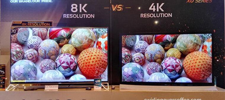 Tivi 4K hay tivi 8K là lừa chọn phù hợp với nhu cầu xem tivi của bạn?