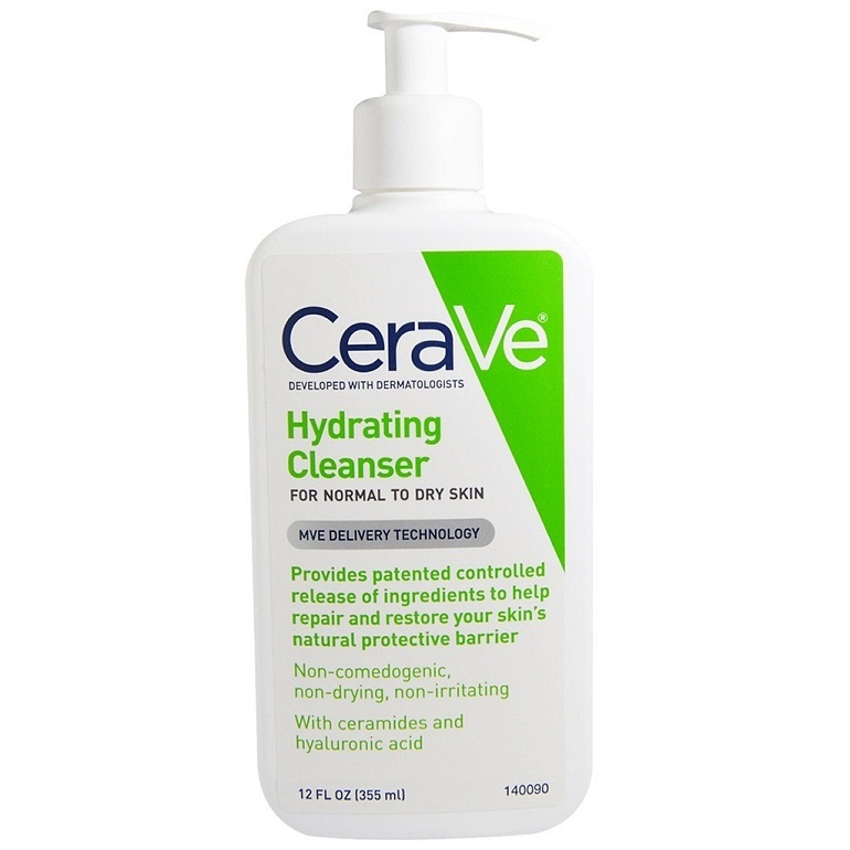 Sữa rửa mặt cerave Hydrating Cleanser For Normal To Dry Skin