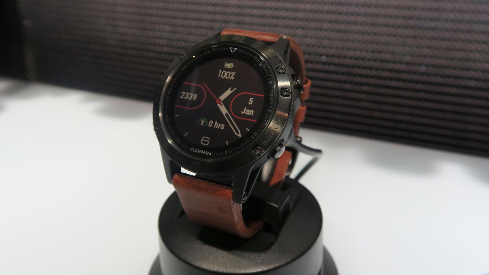 Model Garmin Fenix 5