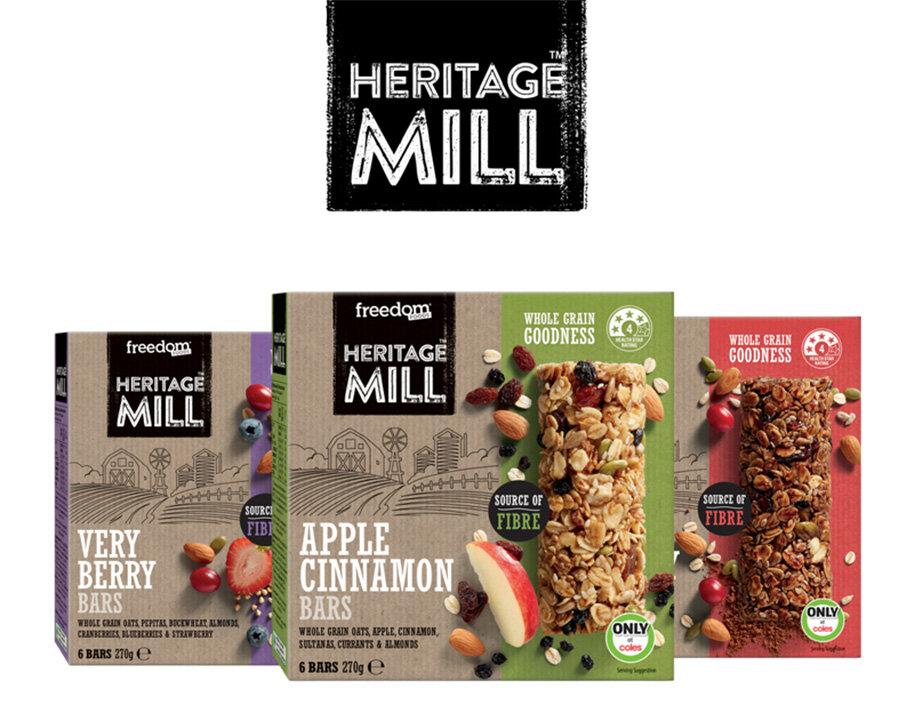 Dòng sản phẩm ngũ cốc Heritage Mill