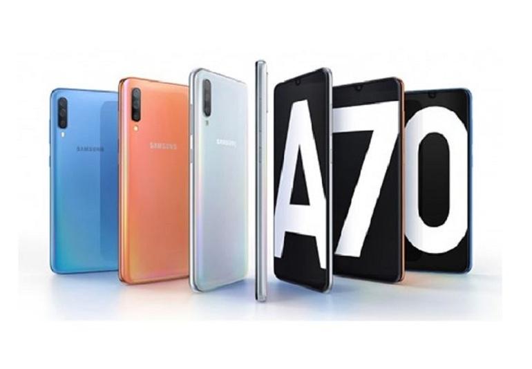 Điện thoại Samsung Galaxy A70.