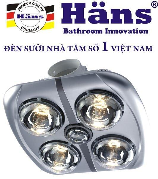 Đèn sưởi nhà tắm Hans H4B