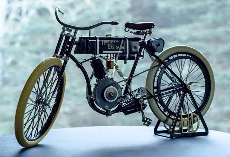 Xe Harley-Davidson Unrestored Singles (Pre-1910)