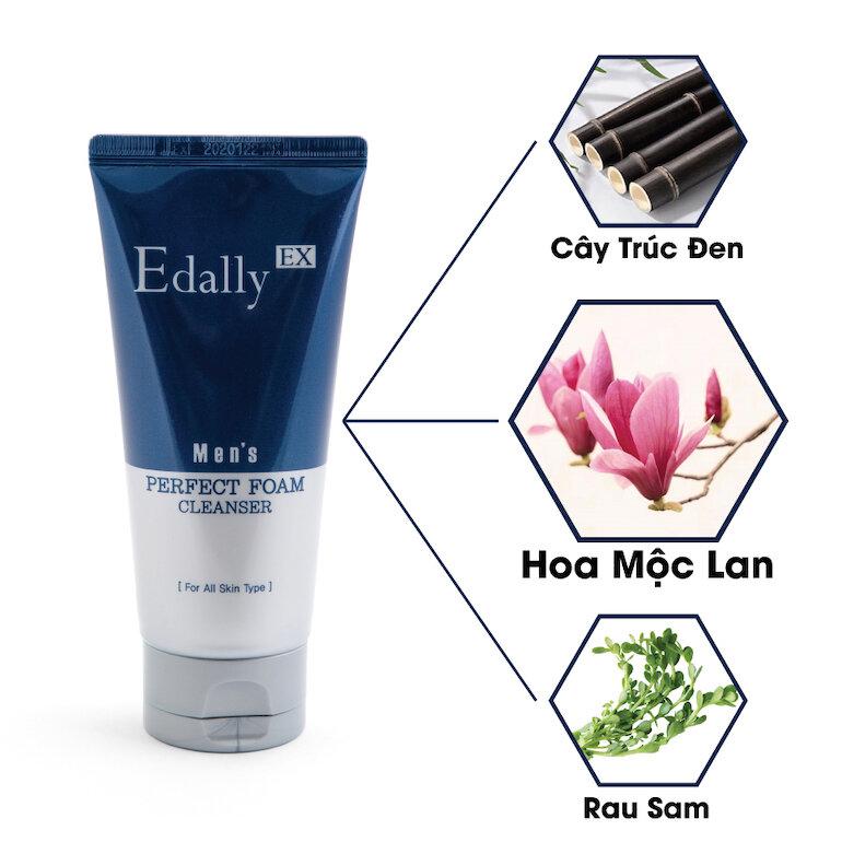 Sữa rửa mặt Edally Mens Perfect Foam Cleanser