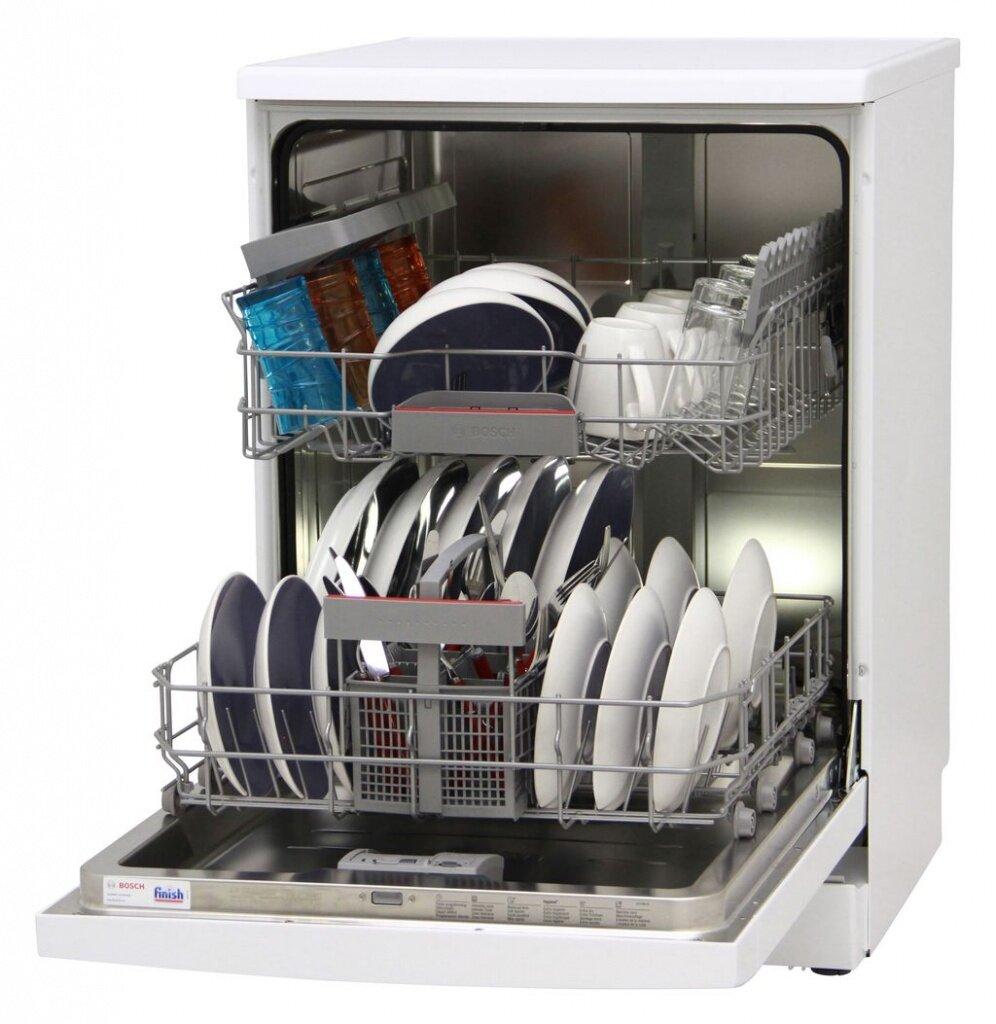 Máy rửa chén Candy CDP 2DS62W chứa được tối đa 16 bộ bát đĩa