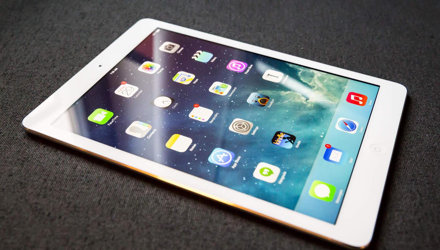 Máy tính bảng iPad air được ưa chuộng trên thị trường