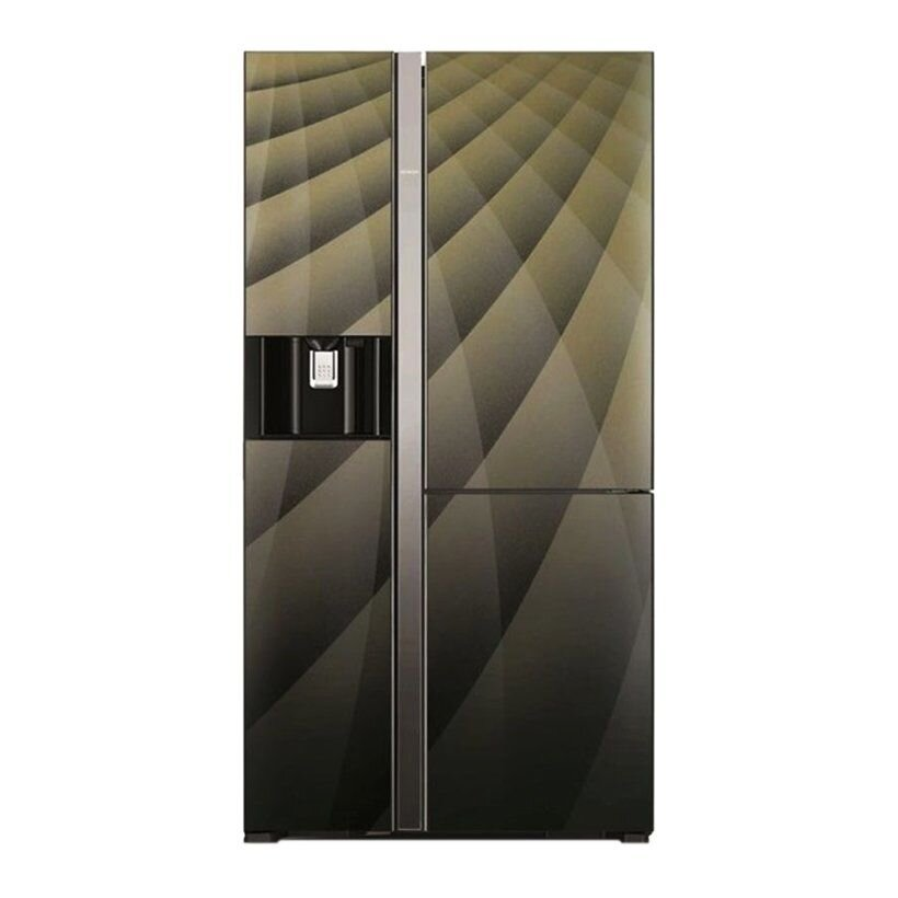 Tủ lạnh tự làm đá side by side Hitachi R-M700 GPG 4X(DIA)