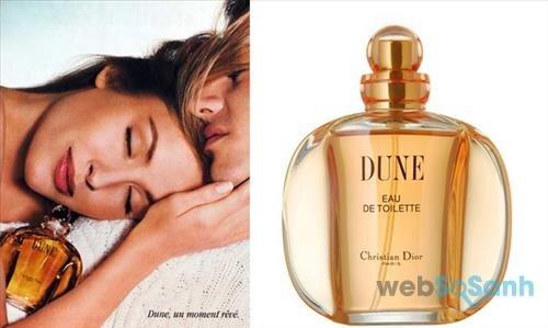 Chai nước hoa Dior Dune mang phong cách cổ điển, thuần khiết và đầy tao nhã
