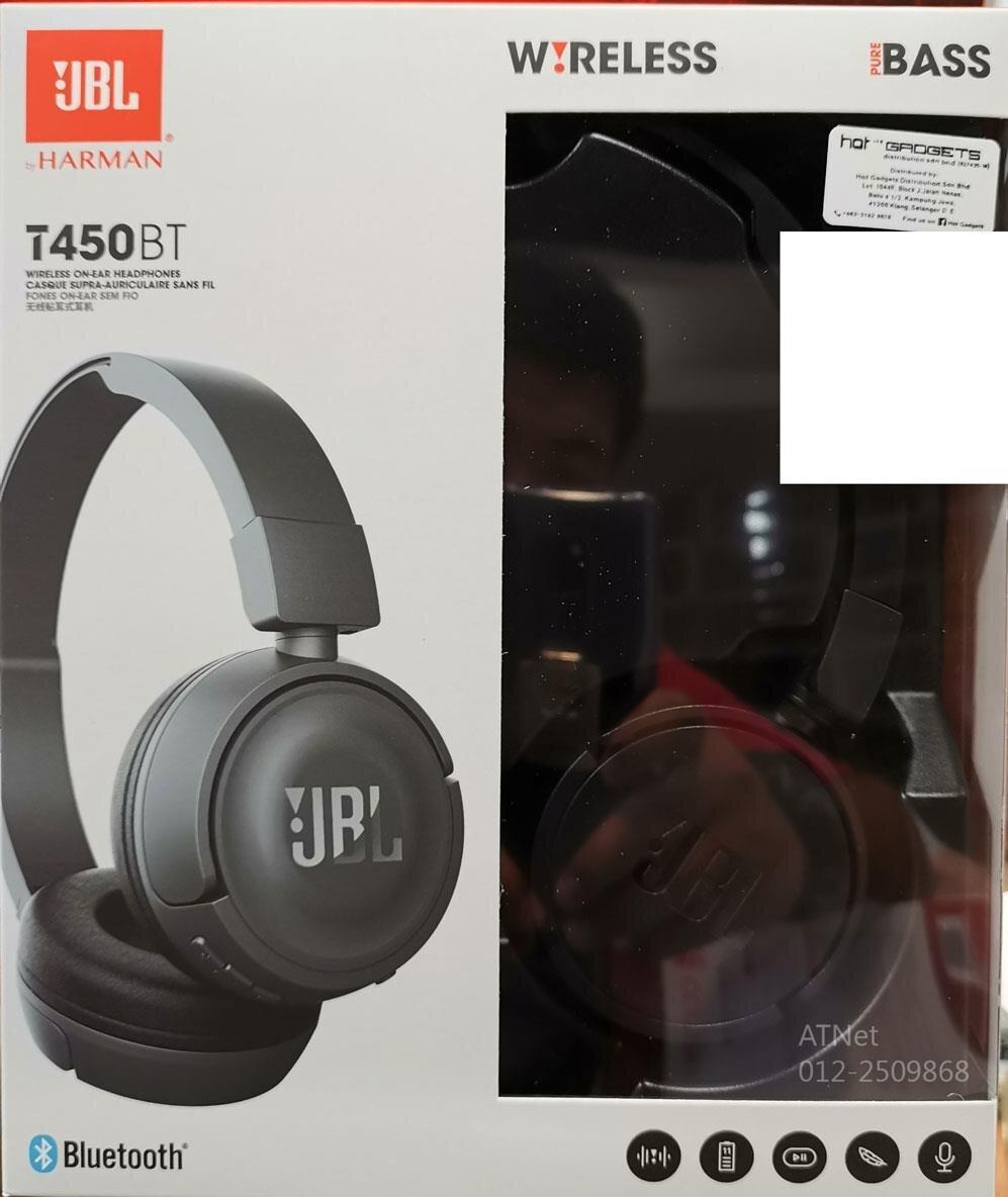 Tai nghe Bluetooth JBL T450BT có thiết kế bắt mắt