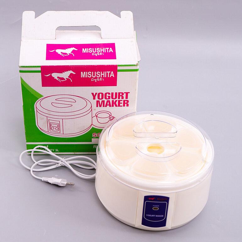 Cách sử dụng máy làm sữa chua Misushita đơn giản (Nguồn: giagoc24h.vn )