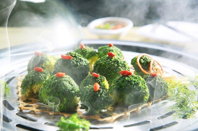Sử dụng nồi hấp thuỷ nhiệt Magic Korea A67 siêu tốc giúp làm chín thức ăn nhanh và giữ lại hàm lượng dinh dưỡng cao trong thực phẩm