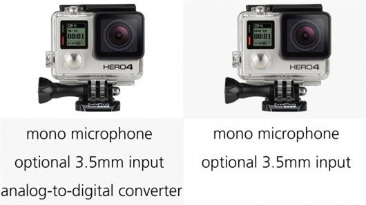 The mics in the Hero4 cameras are capable of delivering nearly double the dynamic range of...