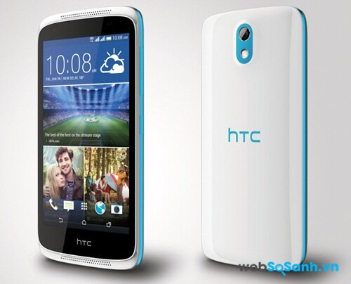Thiết kế của HTC Desire 526G Plus
