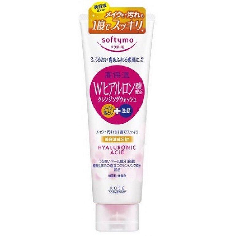 Sữa rửa mặt Kose Softymo Hyaluronic Acid Cleansing Wash