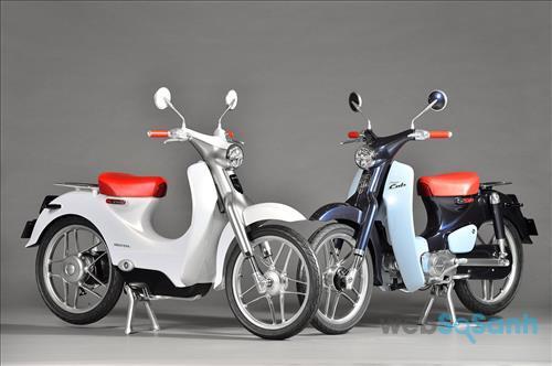 Xe máy điện Honda EV Cub