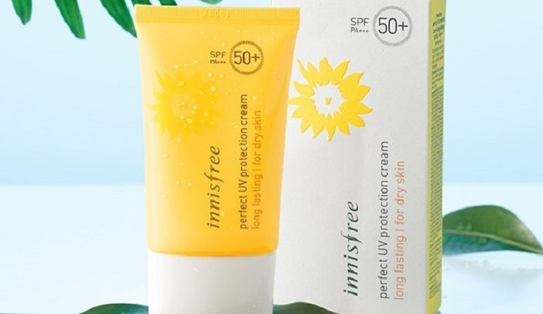 Kem chống nắng Innisfree Perfect UV Protection Cream Long Lasting/For Dry Skin