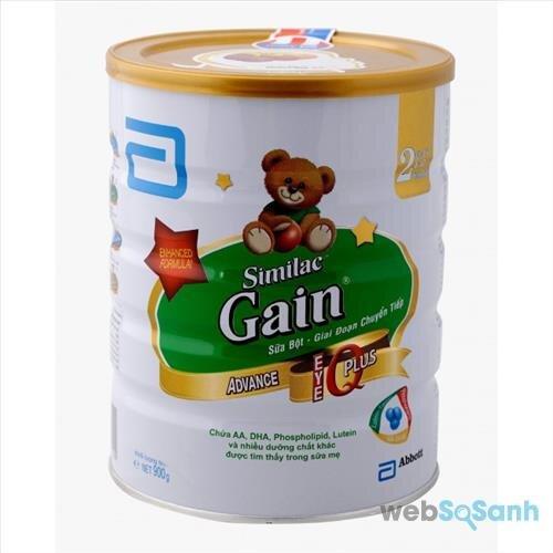 Sữa bột Similac Gain Plus IQ