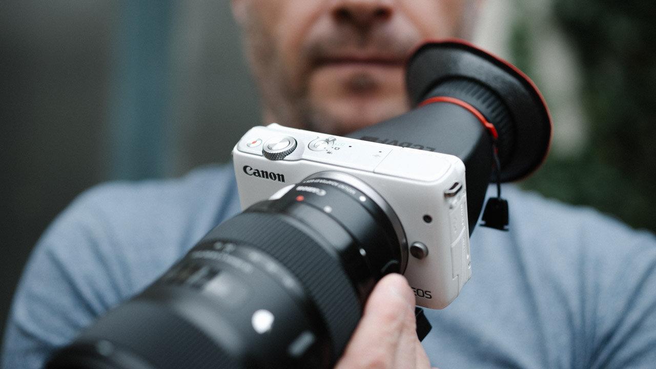 Chiếc Canon EOS M10 phù hợp cho các bạn nữ