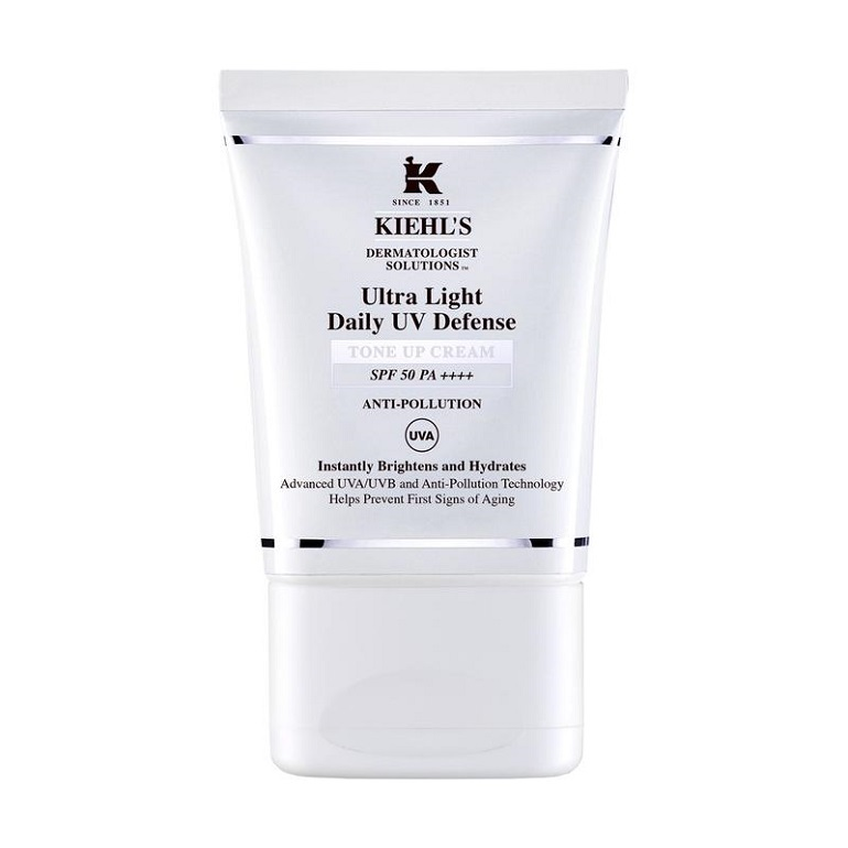 Kem chống nắng Kiehl's Dermatologist Solutions™ Ultra Light Daily UV Defense Tone Up Cream